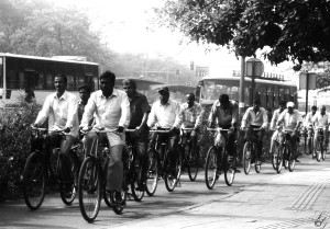 "Satyajit Gangula - ""Cycling in Delhi"""