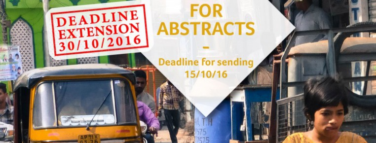 Call for Abstracts – CODATU XVII and UMI Conference – 7th-10th November 2017, Hyderabad (India) – Deadline extension !