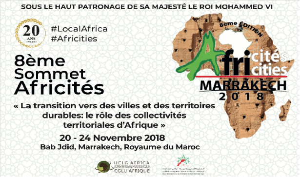 Report on the 8th Africities Summit in Marrakesh