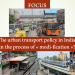 FOCUS: Urban transport policy in India: in the process of « Modi-fication » ?