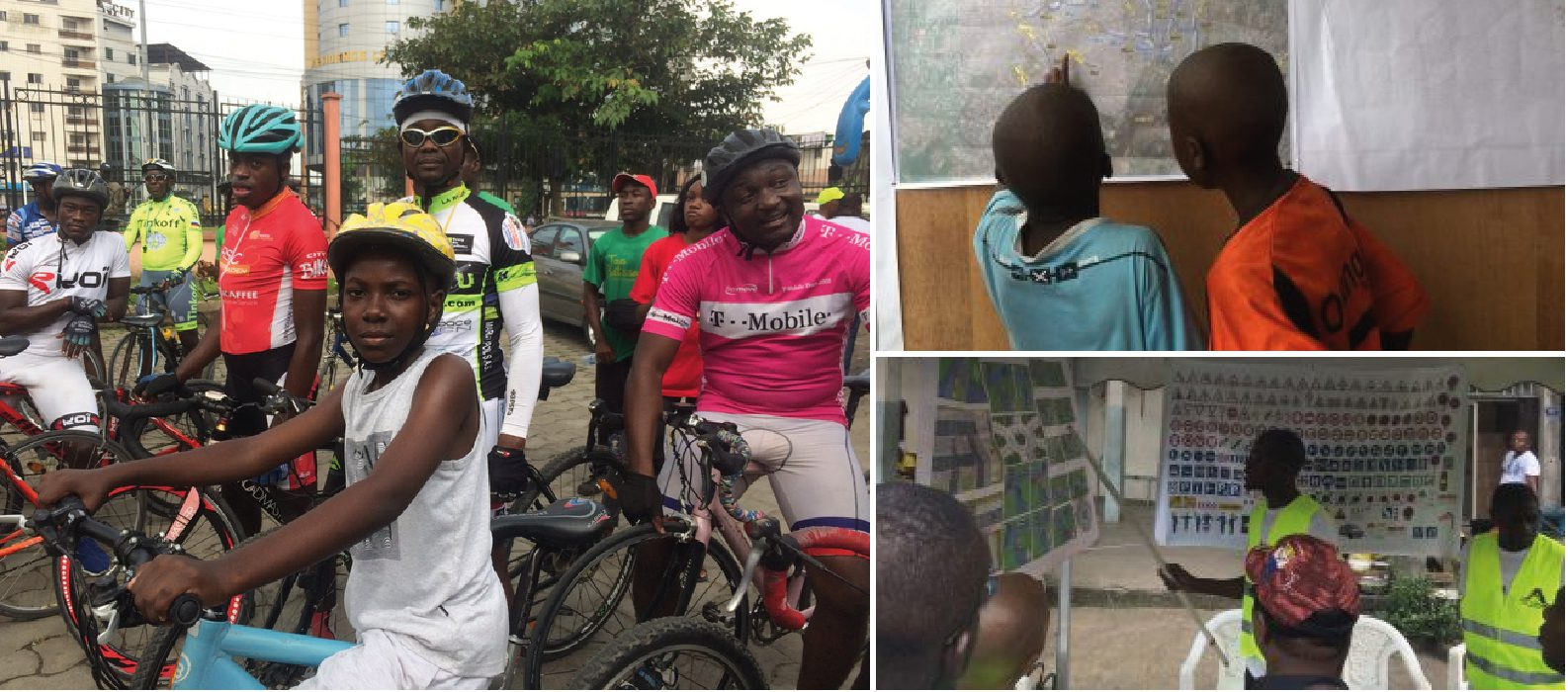 Car-free day in Douala (Cameroon): a great success!