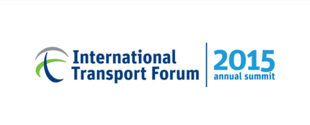 Summit of the International Transport Forum: presentation of the initiatives to the ministers of the 54 member countries, in Leipzig (Germany), 27-29 may 2015