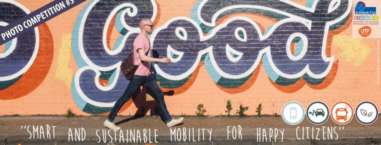 3rd CODATU Photo Competition: «Smart & Sustainable Mobility for Happy Citizens»