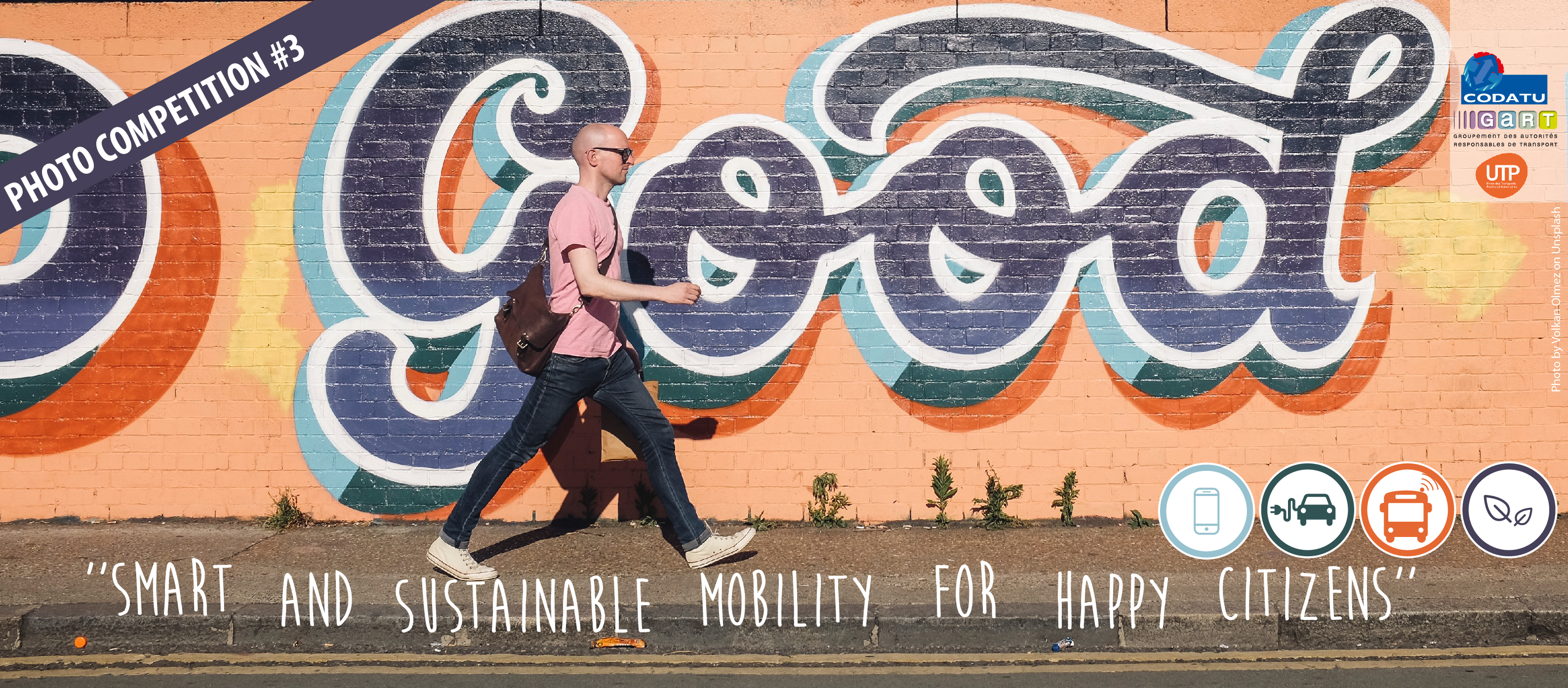 3rd CODATU Photo Competition: « Smart & Sustainable Mobility for Happy Citizens »