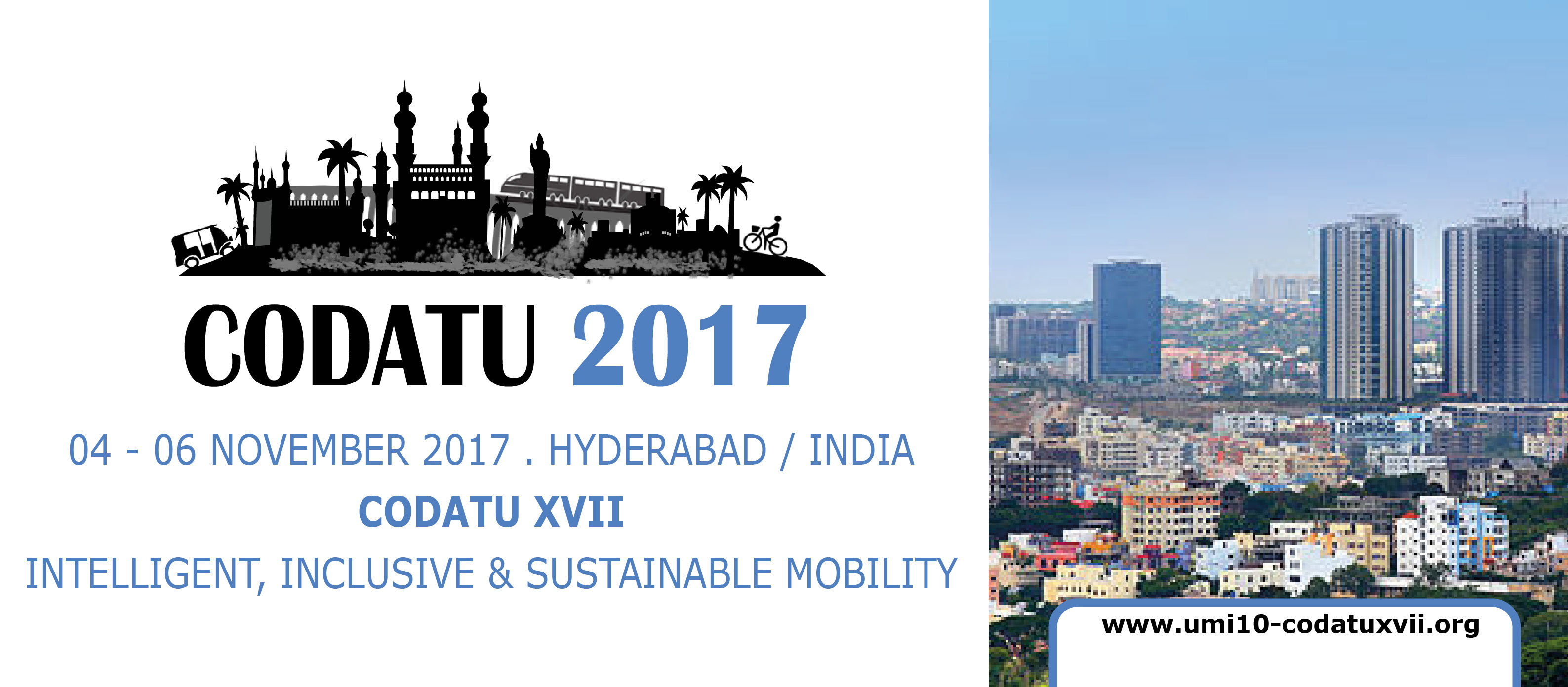 UMI-CODATU XVII Conference – Registration is now open!