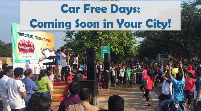 Car Free Days : Coming Soon in Your City !