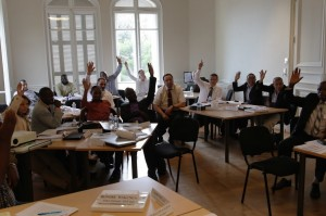 A Highly participative training session