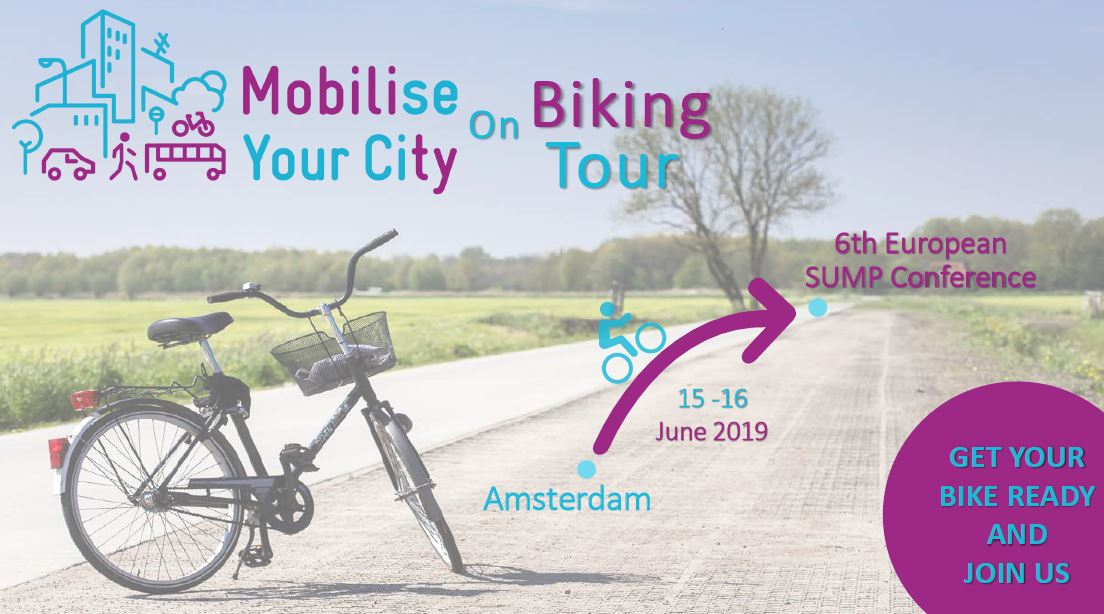 6th European SUMP Conference: join MYC for a bike tour from Amsterdam to Groningen!