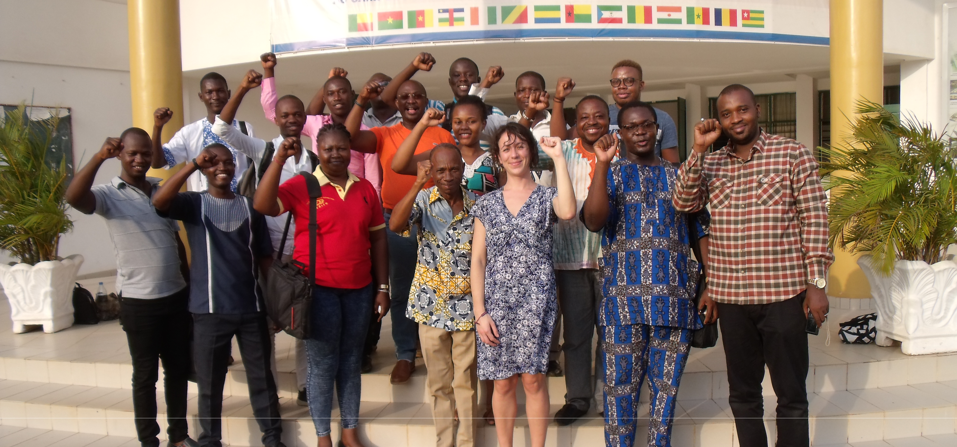 First day of school for the 4th year of the Transport Master Programme in Lomé