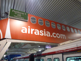 """Air Asia - Bukit Bintang"" Monorail station"