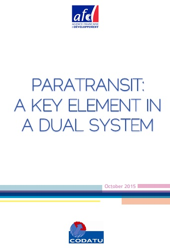 Paratransit: a key element in a dual system