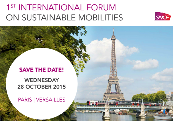 CODATU partner of SNCF 1st International Forum on Sustainable Mobility