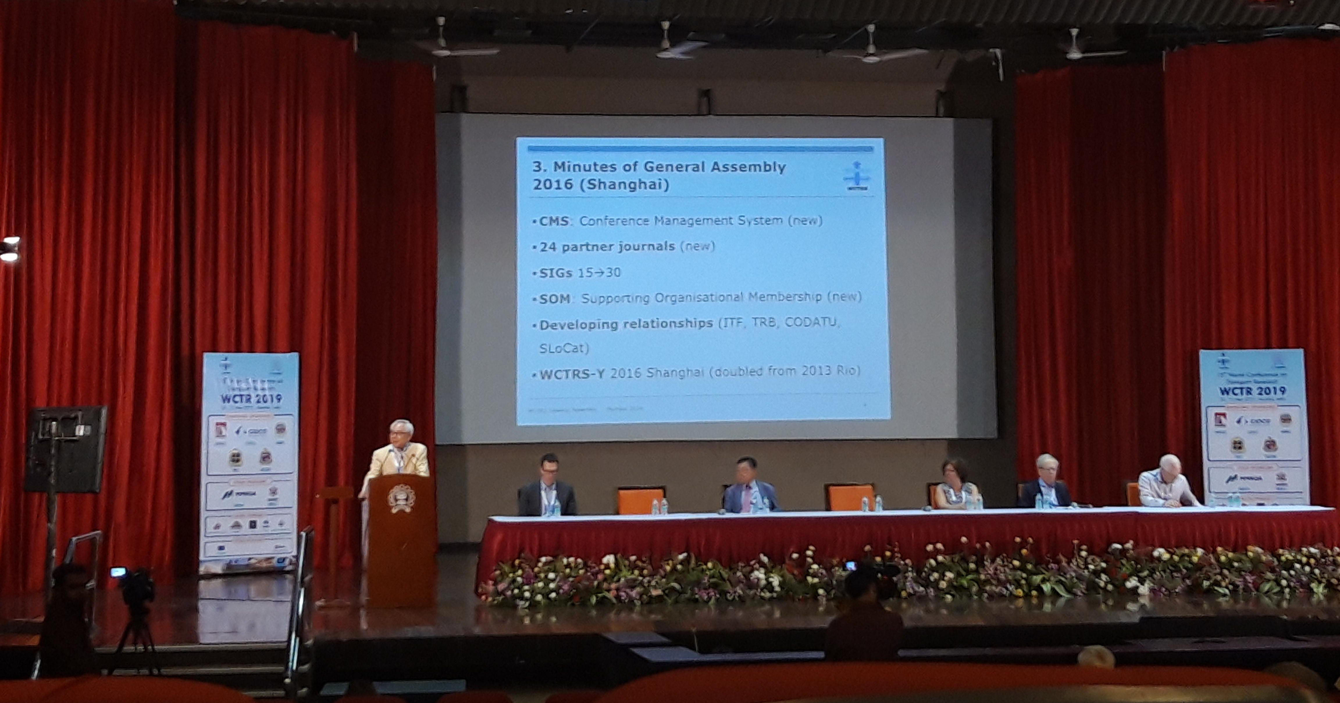 CODATU attended the 15th WCTR Conference in Mumbai! – 26 to 31 May 2019