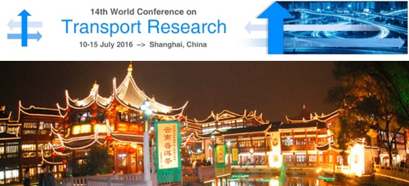 CODATU at the 14th World Conference on Transport Research (WCTRS) – 10-15 July 2016 – Shanghai (China)