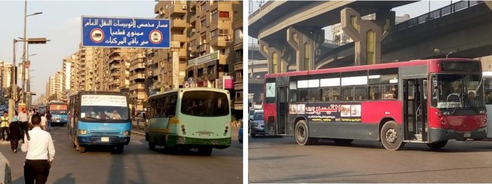 Greater Cairo and how the transport system is coping with