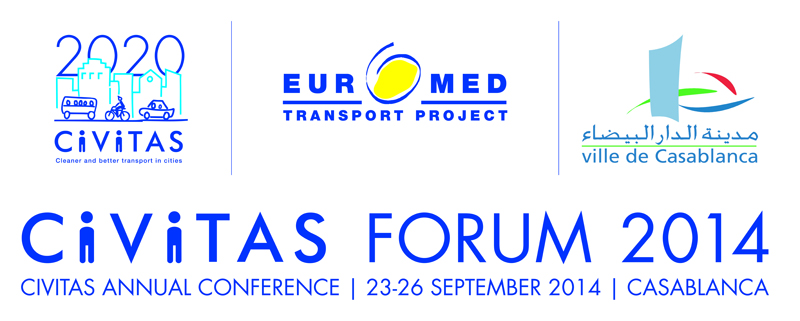 CODATU at Forum CIVITAS, 23-26 September 2014 Casablanca (Morocco)