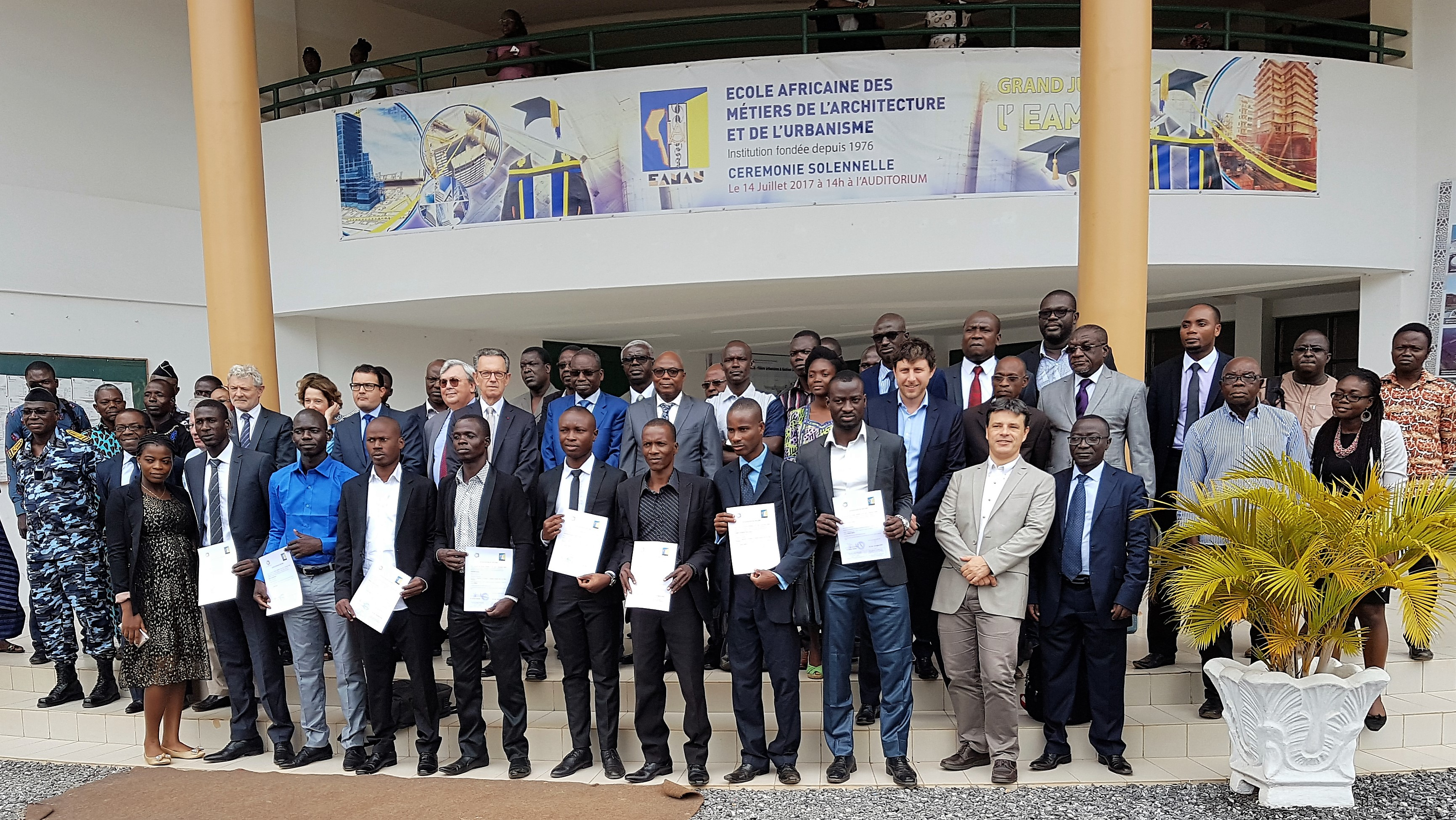 Launch of the 3rd school year of the Master « Sustainable transport and mobility in African Cities » in Lomé (Togo)