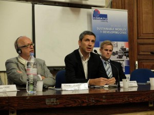 Image round table 2, from left to right C. Huizenga, Ch. Najdovski and J. Dulac