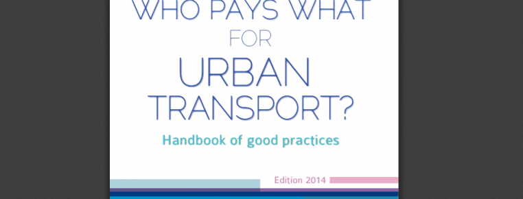 New Publication: updated version of the Handbook of Good Practices in Funding Urban Transport