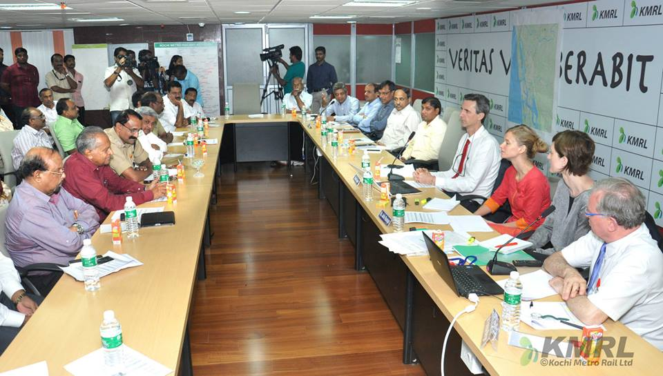 Workshop in Kochi: «A Mass Transit Project, an opportunity for the urban development of a city»