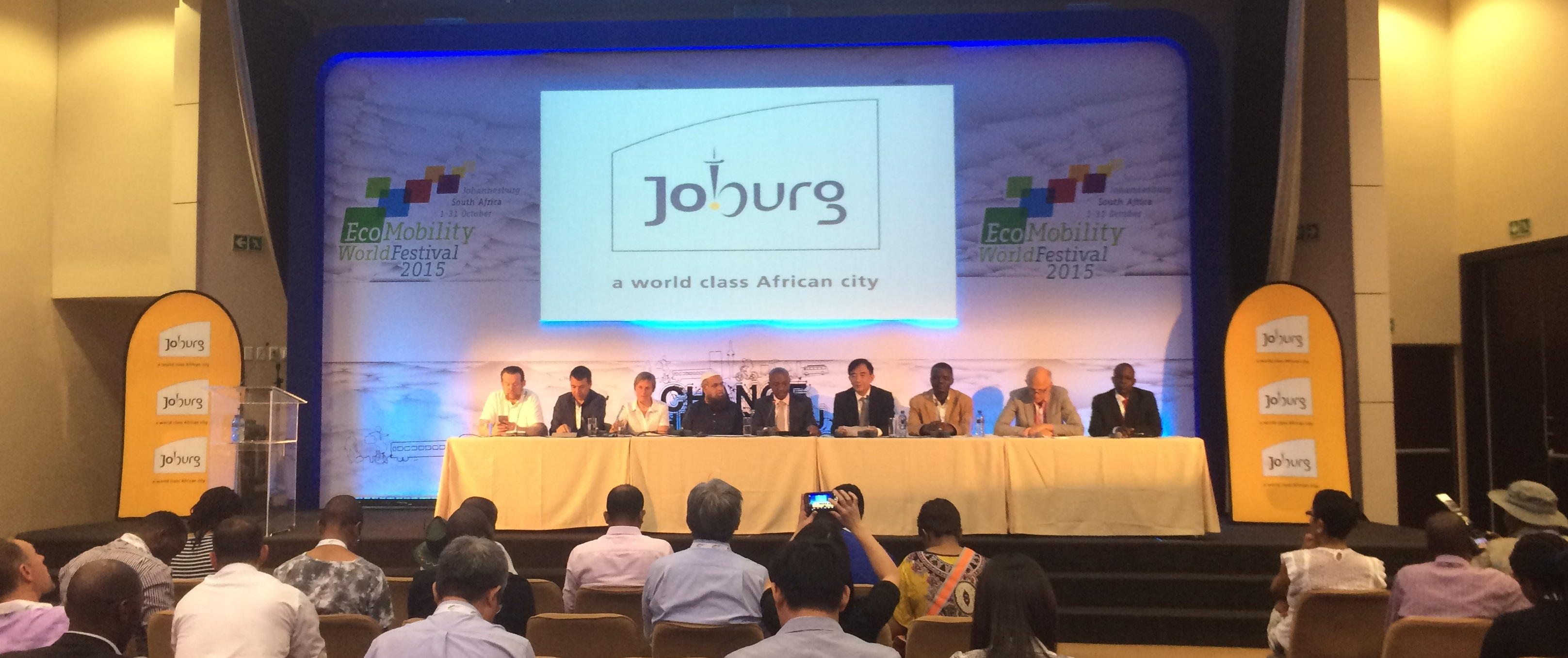 Ecomobility Dialogues 2015: CODATU presents results of World Summit Climate and Territories
