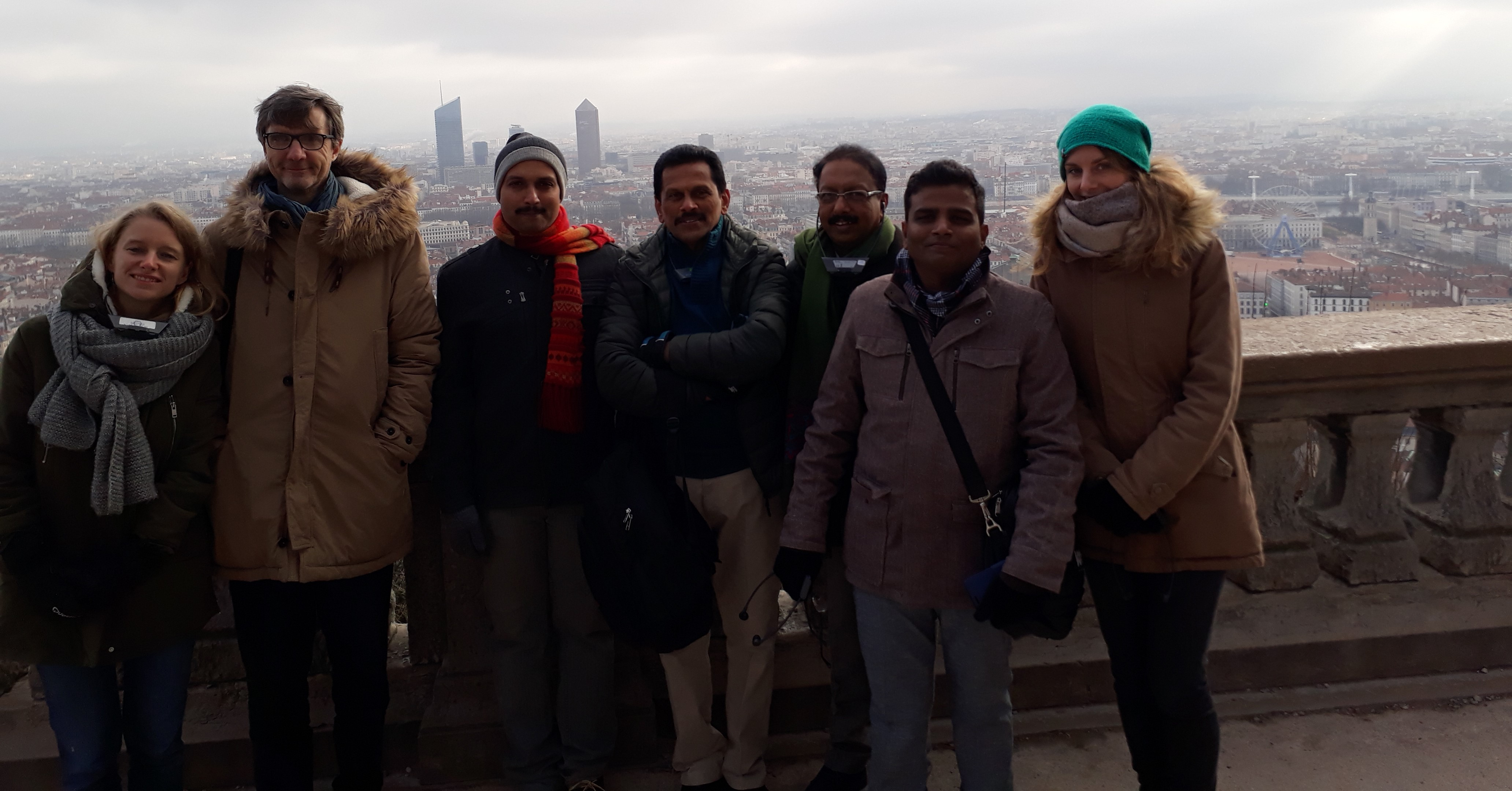 A team from Kochi Metro visited Lyon !