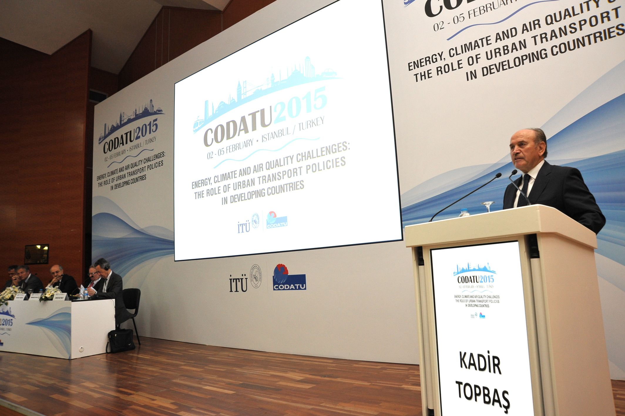CODATU XVI – 2015 – Istanbul (Turkey): Climate change, air quality and energy challenges