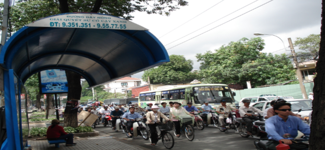 CODATU XIII – 2008 – Ho Chi Minh City (Vietnam): challenges and solutions for a sustainable development
