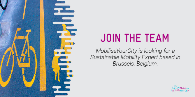 MobiliseYourCity is looking for a Sustainable Mobility Expert