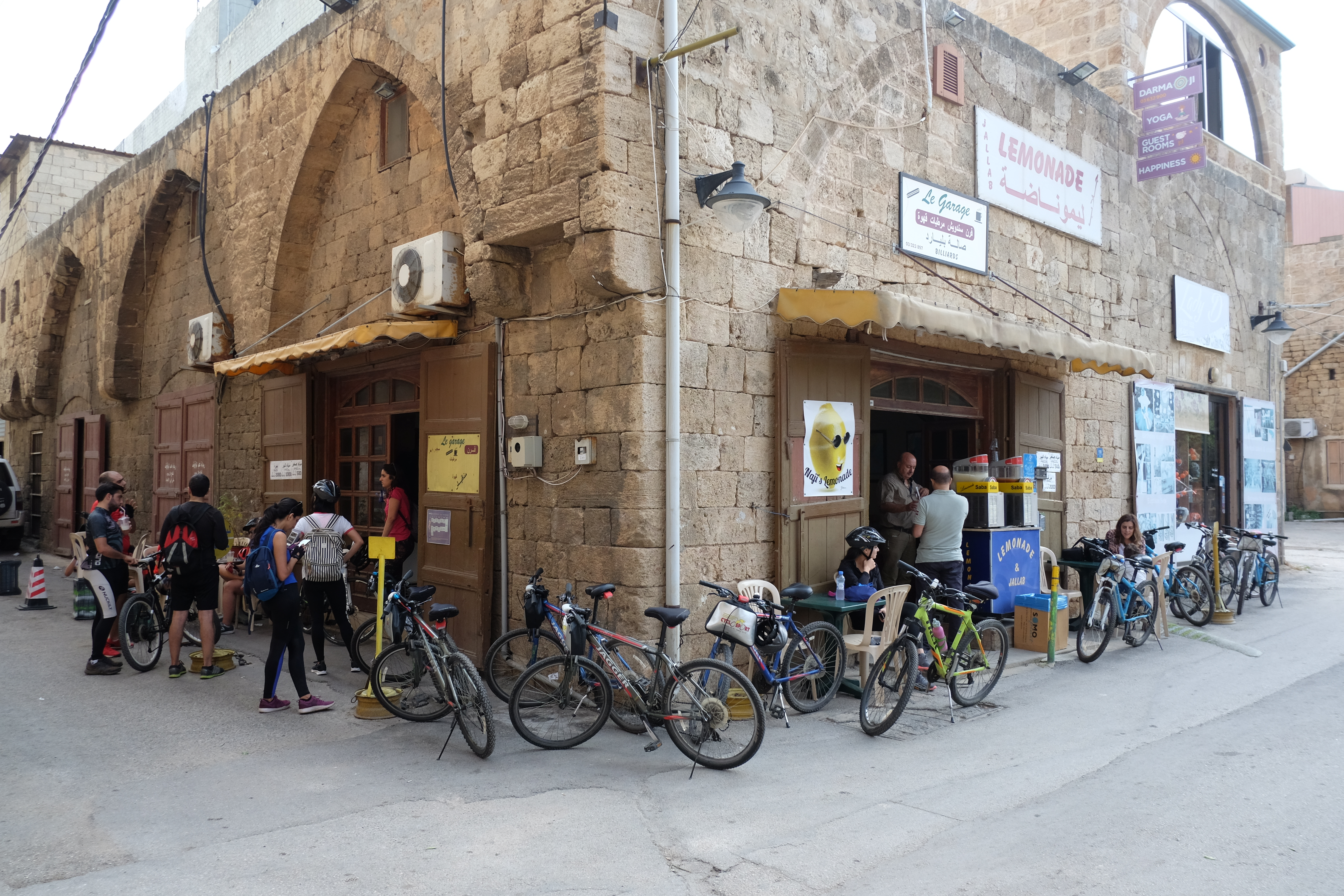 Interview of the ambitious Lebanese entrepreneur and passionate cyclist, Karim Sokhn, founder of CyclingCircle, Deghri Messengers and The Bike Kitchen in Beirut