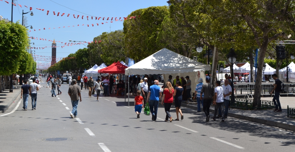 Tounes Tetnafes 2017 (Tunis is Breathing 2017) : First Car Free Day in Tunis