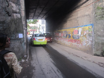 Figure 11: Narrow underpass ((c) Roman Ville-Glasauer)