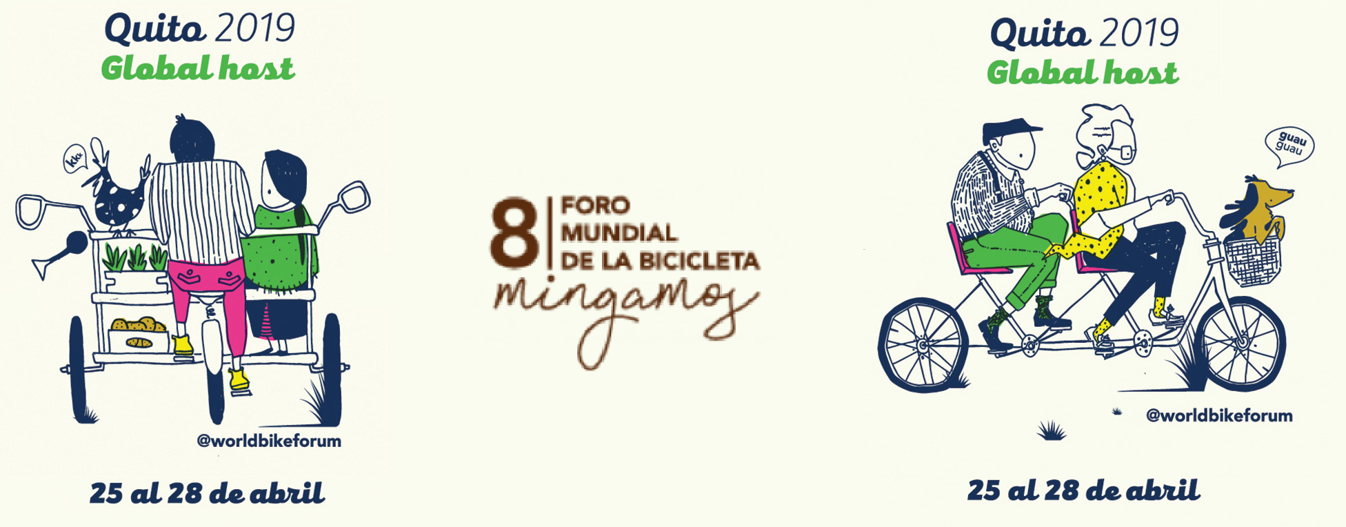 Forum Mondial de La Bicyclette : 8ème édition [Equateur : 25-28 Avril 2019]