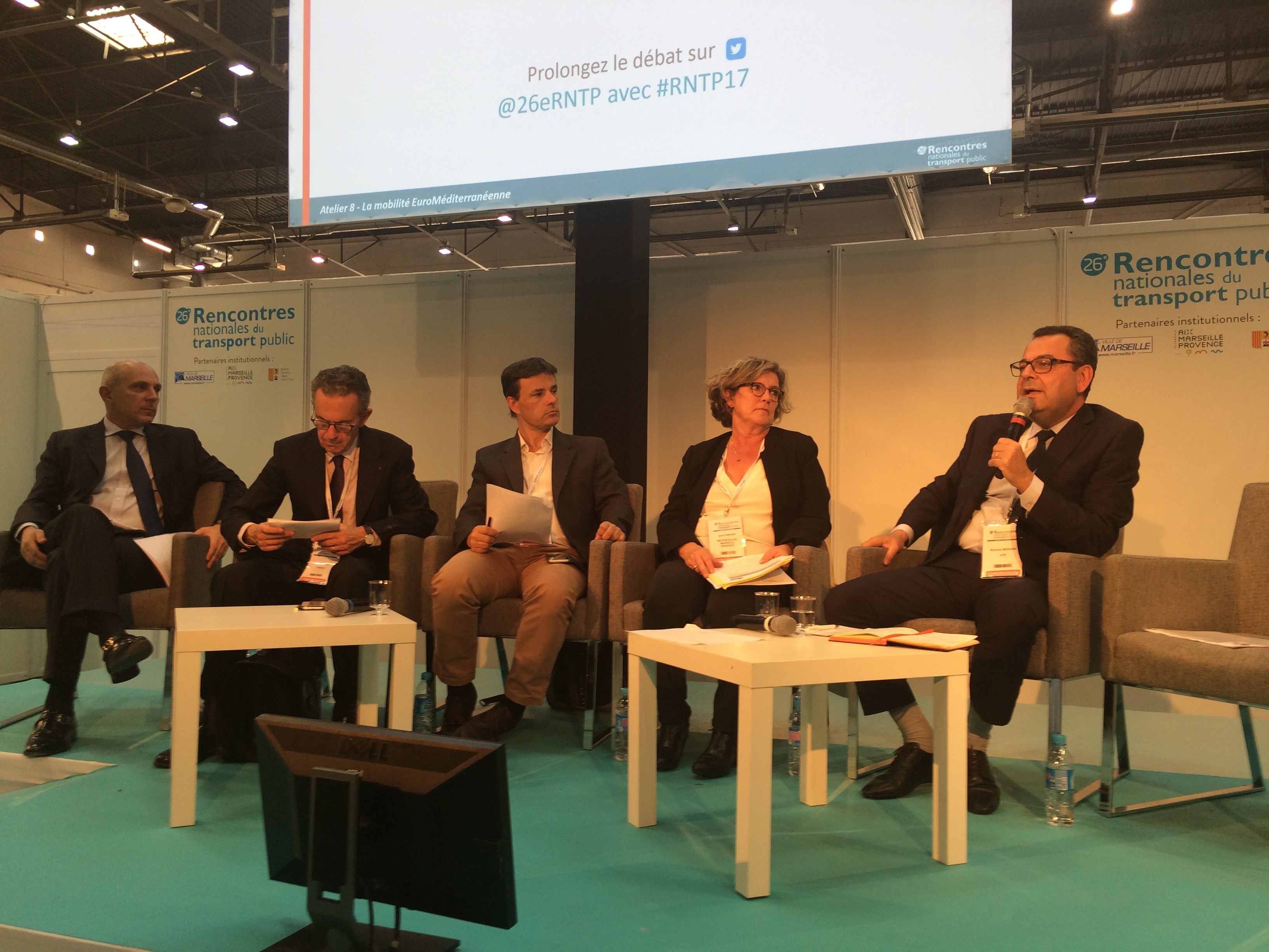 CODATU and GART conduct a joint session together at the occasion of RNTP in Marseille