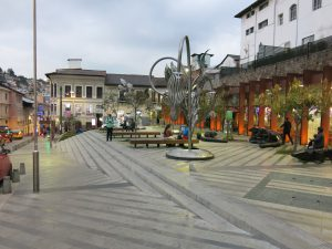Pacified Urban Space in the historical centre of Quito