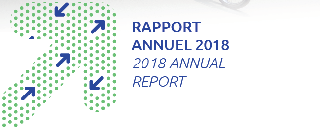 The 2018 annual report is online!